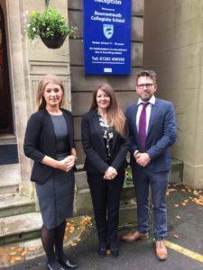 Vikki Swann, Simon Welch & Kate New of Bournemouth Collegiate School (ID 94531)