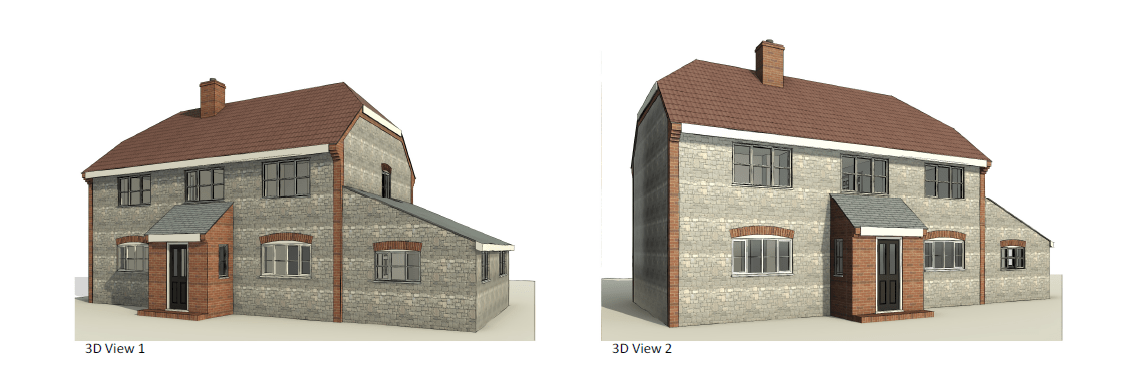 3D View – Beech House 1