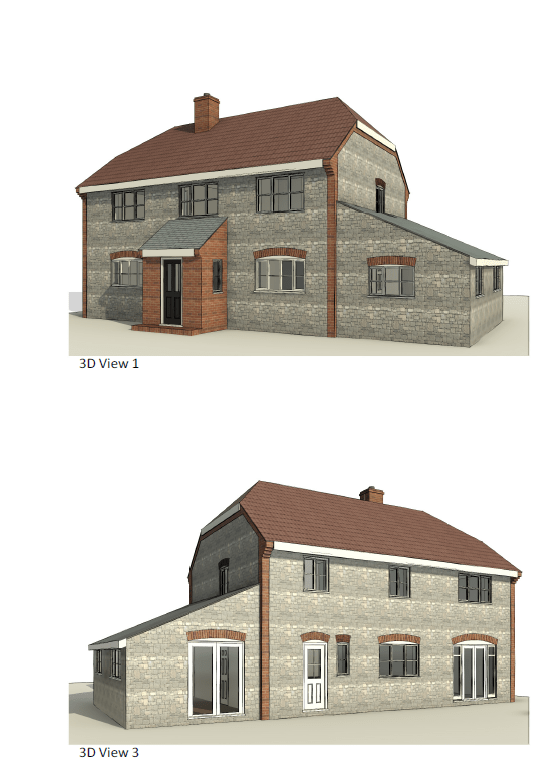 3D View – Beech House 2