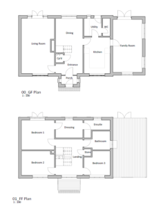 Existing Layout – Beech House 1